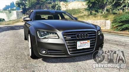 Audi A8 FSI 2010 для GTA 5