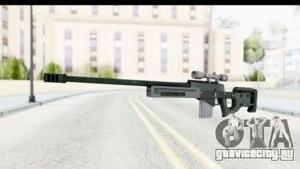 GTA 5 Shrewsbury Sniper Rifle для GTA San Andreas
