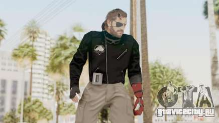 MGSV Phantom Pain Venom Snake Leather Jacket для GTA San Andreas