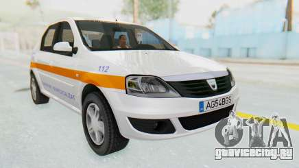 Dacia Logan Facelift Ambulanta для GTA San Andreas