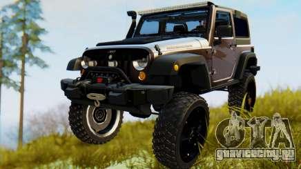 Jeep Wrangler Rubicon 2012 для GTA San Andreas