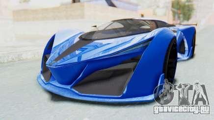 GTA 5 Grotti Prototipo v1 для GTA San Andreas