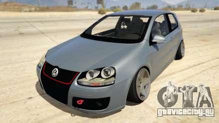 Volskwagen Golf MkV Stance для GTA 5