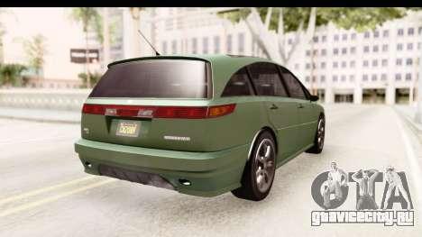 GTA 5 (4) Dinka Perennial для GTA San Andreas вид справа