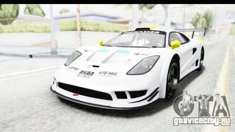 GTA 5 Progen Tyrus для GTA San Andreas вид снизу