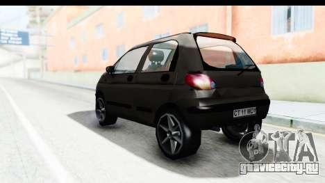 Daewoo Matiz для GTA San Andreas вид слева