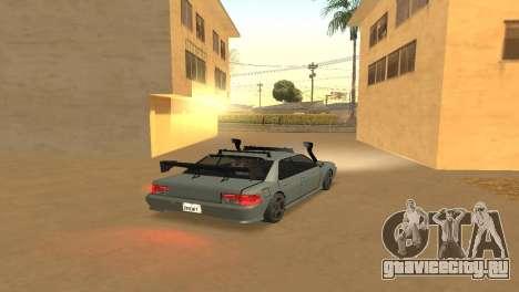 Super Sultan для GTA San Andreas вид слева