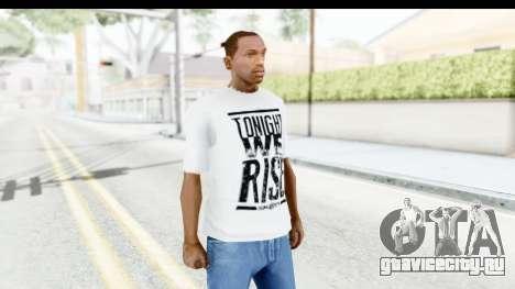 Skillet T-Shirt для GTA San Andreas второй скриншот