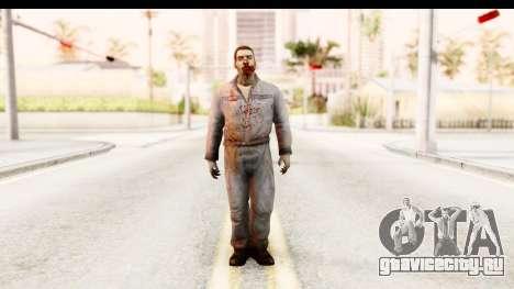 Left 4 Dead 2 - Zombie Worker для GTA San Andreas второй скриншот
