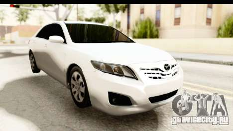 Toyota Camry GL 2011 для GTA San Andreas вид справа
