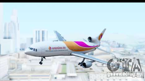 Lockheed L-1011-100 TriStar Hawaiian Airlines для GTA San Andreas вид сзади слева