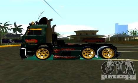 КамАЗ 65115 TURBO DIESEL для GTA San Andreas вид слева