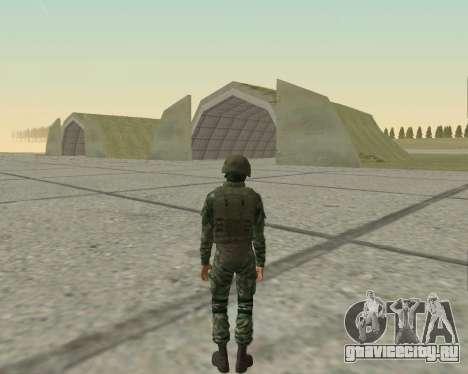 Пак бойцов ВДВ для GTA San Andreas девятый скриншот