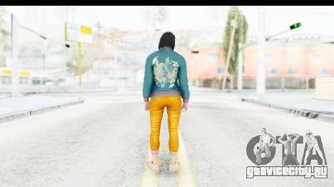 Cunning Stunts DLC Female Skin для GTA San Andreas третий скриншот