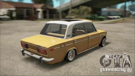 VAZ 2106 Summer для GTA San Andreas вид слева