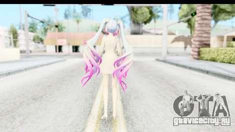 White Dress Miku для GTA San Andreas третий скриншот
