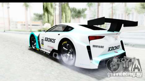GTA 5 Emperor ETR1 IVF для GTA San Andreas салон
