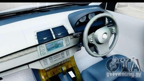 Toyota Avanza Veloz 2012 v1.1 для GTA San Andreas вид сзади