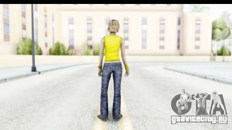 Silent Hill 3 - Heather Sporty Yellow Glasses для GTA San Andreas третий скриншот