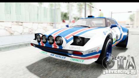 GTA 5 Lampadati Tropos Rallye No Headlights IVF для GTA San Andreas вид сбоку