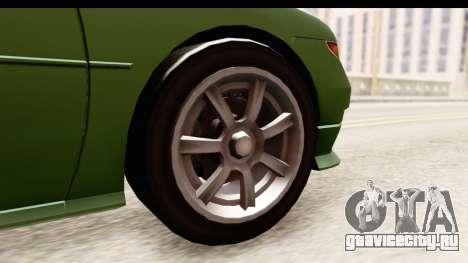 GTA 5 (4) Dinka Perennial для GTA San Andreas вид сзади