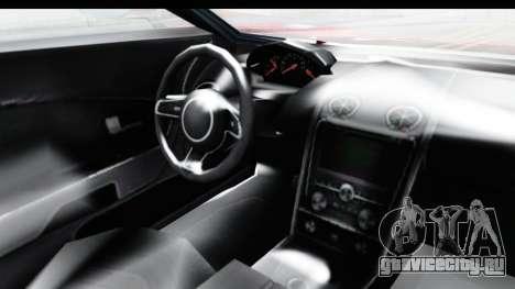 GTA 5 Vapid Bullet Face FMJ для GTA San Andreas вид изнутри