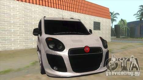 Fiat Doblo 2015 Series для GTA San Andreas вид сзади