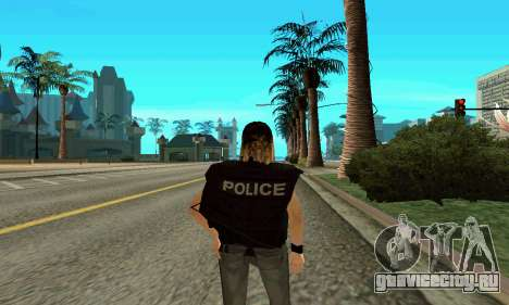 Женщина-тренер SWAT для GTA San Andreas третий скриншот