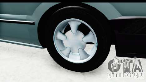 Renault 19 RE для GTA San Andreas вид сзади
