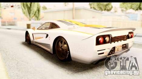 GTA 5 Progen Tyrus IVF для GTA San Andreas двигатель