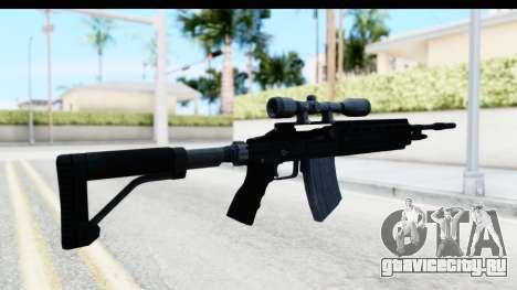 GTA 5 Vom Feuer Marksman Rifle для GTA San Andreas второй скриншот