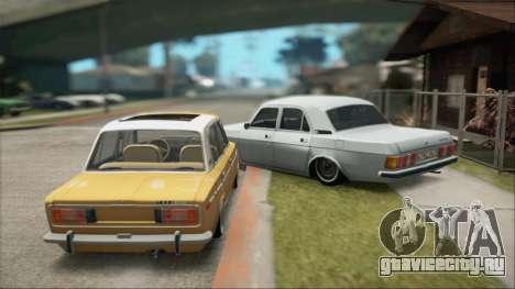 VAZ 2106 Summer для GTA San Andreas вид справа