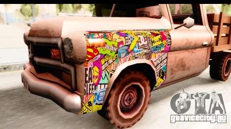 Walton Sticker Bomb для GTA San Andreas вид сзади