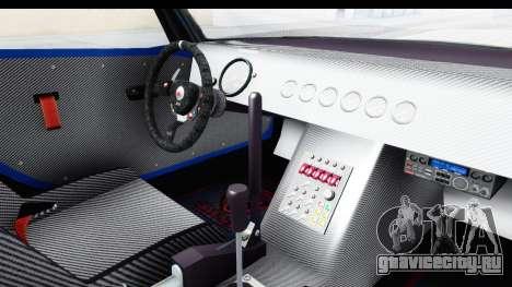 GTA 5 Bravado Banshee 900R Carbon Mip Map IVF для GTA San Andreas вид изнутри