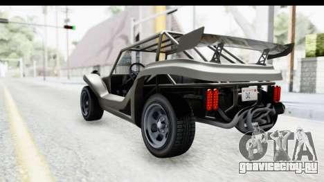 GTA 5 BF Bifta v2 IVF для GTA San Andreas вид слева