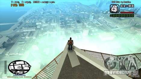 FOV Editor для GTA San Andreas