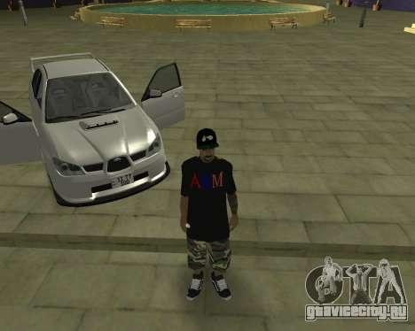 Subaru Impreza Armenian для GTA San Andreas вид снизу