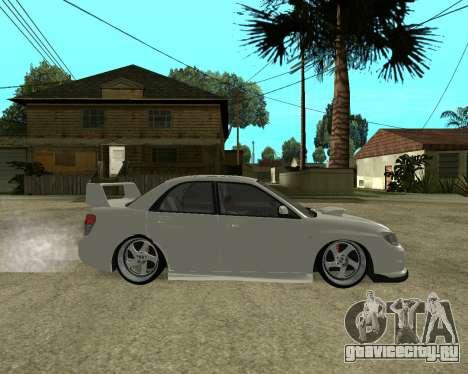 Subaru Impreza Armenian для GTA San Andreas колёса