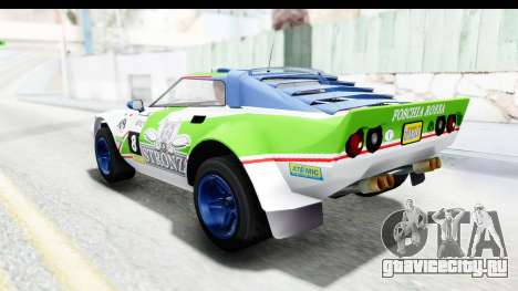 GTA 5 Lampadati Tropos Rallye No Headlights IVF для GTA San Andreas салон