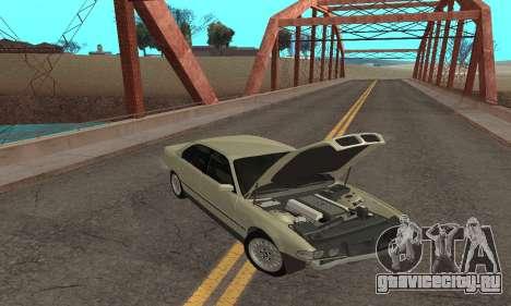 BMW 730 для GTA San Andreas вид сбоку
