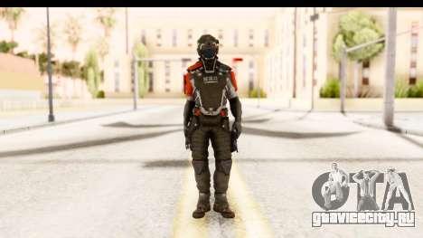 Homefront The Revolution - KPA v2 Captain для GTA San Andreas второй скриншот