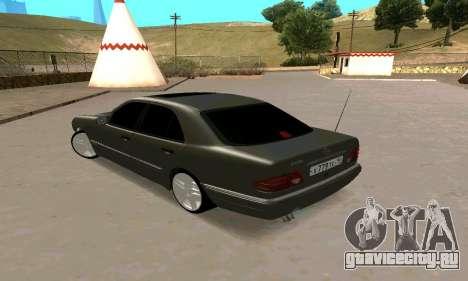 Mercedes-Benz E420 для GTA San Andreas вид слева