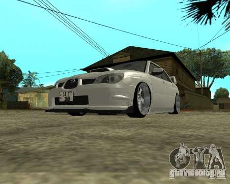 Subaru Impreza Armenian для GTA San Andreas