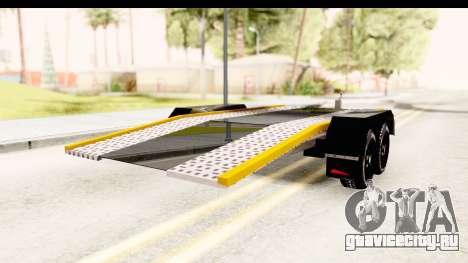 Dacia Duster Pickup Trailer для GTA San Andreas вид слева