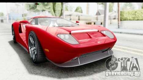 GTA 5 Vapid Bullet Face FMJ для GTA San Andreas