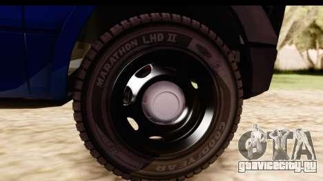Ford F-150 Policia Federal для GTA San Andreas вид сзади