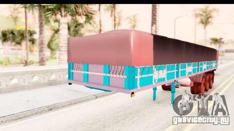 Trailer Brasil v4 для GTA San Andreas вид справа
