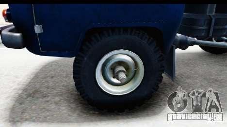 УАЗ-330364 для GTA San Andreas вид сзади