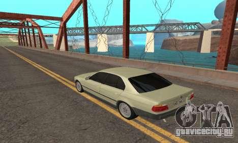 BMW 730 для GTA San Andreas вид слева