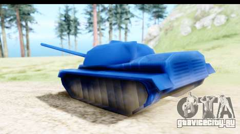 Tank M60 from Army Men: Serges Heroes 2 DC для GTA San Andreas вид сзади слева